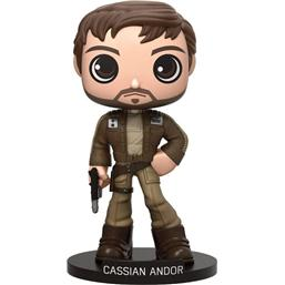 Star Wars: Cassian Andor Wacky Wobbler Bobble-Head