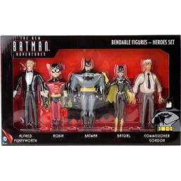 Batman: Batman Animated Series Bøjelige Figursæt