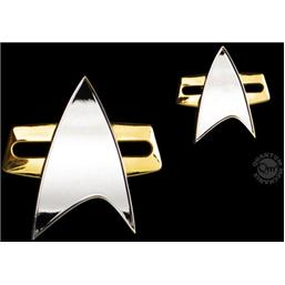 Voyager Enterprise Badge & Pin Sæt