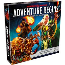 Adventure Begins Dungeons & Dragons Board Game