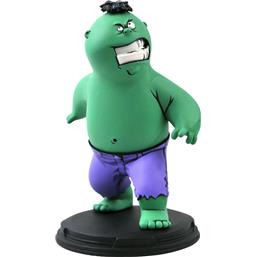The Hulk Marvel Animated Statue 15 cm