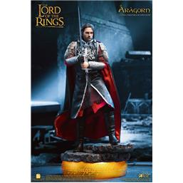 Lord Of The Rings: Aragon Deluxe Version Real Master Series Action Figur 1/8 23 cm