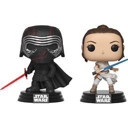 Kylo & Rey POP! Movies Vinyl Bobble-Head 2-Pak