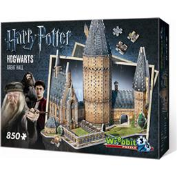 Harry Potter: Hogwarts - Great Hall 3D Puslespil
