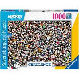Mickey Mouse Challenge Puslespil (1000 brikker)