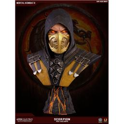Mortal Kombat: Scorpion Hellfire Exclusive X Buste