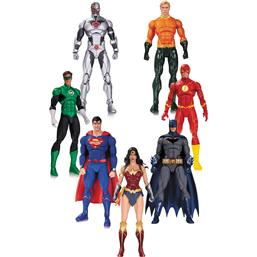 DC Comics: Justice League Action Figur 7-Pak