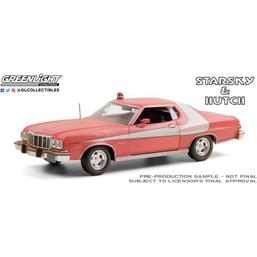 Diverse: Starsky & Hutch: Ford Gran Torino (Weathered Version) 1976 Diecast Model 1/24