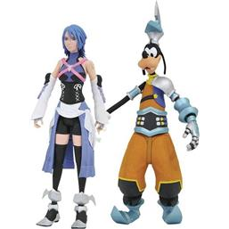Kingdom Hearts: Aqua, Birth by Sleep Goofy Action Figurer 18 cm