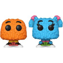 Fry Guy (Orange/Blue Pigtails) POP! Ad Icons Vinyl Figurer 2-Pak