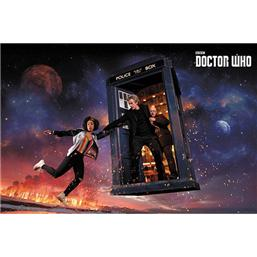 Doctor Who Plakat - Sæson 10 Iconic