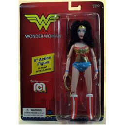 Retro Wonder Woman DC Comics Action Figur 20 cm