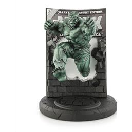 Marvel: Hulk Green Finish Limited Edition Tin/Pewter Collectible Statue 22 cm