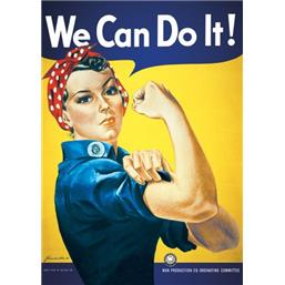 Art: We Can Do It plakat