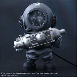 Dr. Serizawa Black and White (1954) Defo-Real Series PVC Statue 13 cm