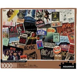 AC/DC Album Covers Puslespil (1000 brikker)