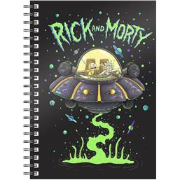 Rick and Morty: Rick & Morty Space Ship Notesbog