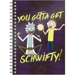 Rick and Morty: Get Schwifty Notesbog