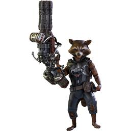 Guardians of the Galaxy: Rocket Raccoon Deluxe Movie Masterpiece 1/6 Skala
