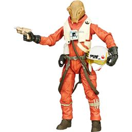 X-Wing Pilot Asty Black Series Action Figur