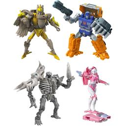 War for Cybertron: Kingdom Action Figures Deluxe 4-pack
