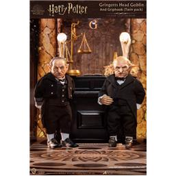 Gringotts Head Goblin & Griphook My Favourite Movie Action Figures 1/6 20 cm