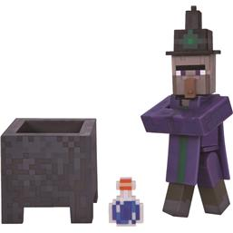 Minecraft: Witch Action Figur med Gryde og Posion