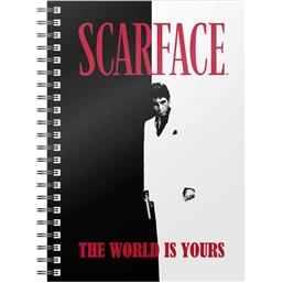 Scarface: The World Is Yours Notesbog