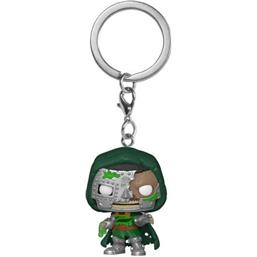 Marvel: Zombie Dr. Doom Pocket POP! Vinyl Nøgleing