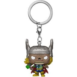 Marvel: Zombie Thor Pocket POP! Vinyl Nøgleing