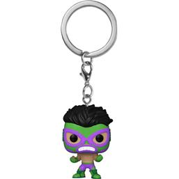 Hulk Marvel Luchadores Pocket POP! Vinyl Nøglering