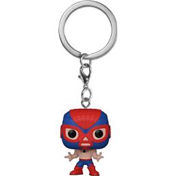 Spider-Man Marvel Luchadores Pocket POP! Vinyl Nøglering