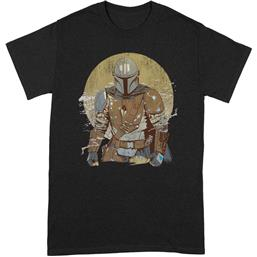 The Mandalorian Distressed Warrior T-Shirt