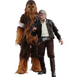 Han Solo & Chewbacca Movie Masterpiece Action Figur 1/6 Skala