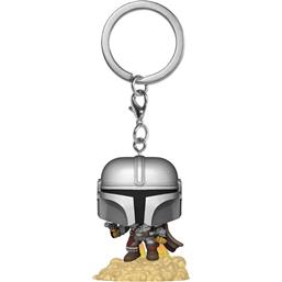 Star Wars: The Mandalorian With Jetpack Pocket POP! Vinyl Nøglering
