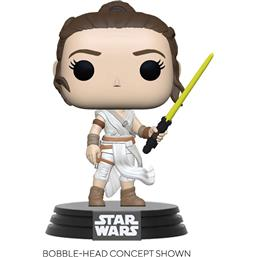 Rey w/ Yellow Light  Saber POP! Movies Vinyl Figur