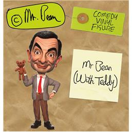 Mr. Bean (with Teddy) Comedy Classic Vinyl Figur 18 cm
