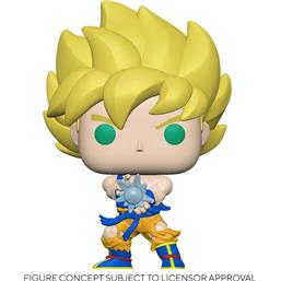 SS Goku w/ Kamehameha Wave POP! Animation Vinyl Figur