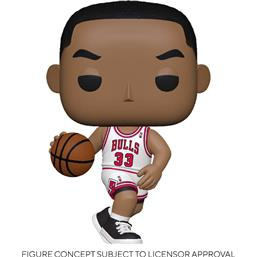 NBA: Scottie Pippen (Bulls Home) POP! Sports Vinyl Figur