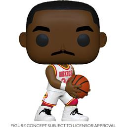 NBA: Hakeem Olajuwon (Rockets Home) POP! Sports Vinyl Figur