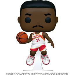 NBA: Dominique Wilkins (Hawks Home) POP! Sports Vinyl Figur