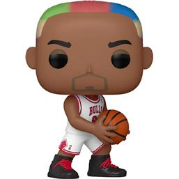 NBA: Dennis Rodman (Bulls Home) POP! Sports Vinyl Figur