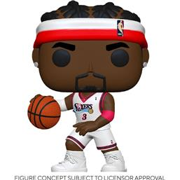 NBA: Allen Iverson (Sixers Home) POP! Sports Vinyl Figur
