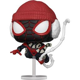 Miles Morales Winter Suit POP! Games Vinyl Figur (#771)