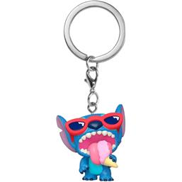 Lilo & Stitch: Stitch Summer Exclusive Pocket POP! Nøglering
