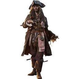 Pirates Of The Caribbean: Jack Sparrow Movie Masterpiece Action Figur 1/6 Skala