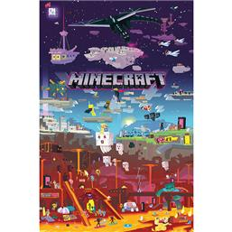 Minecraft Plakat World Beyond