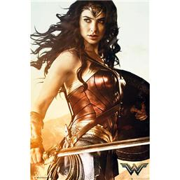 Wonder Woman Battle Plakat