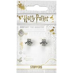 Charms Stoppers 2-Pack Deathly Hallows (sølv belagt)
