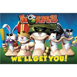 Worms: We'll Get You plakat